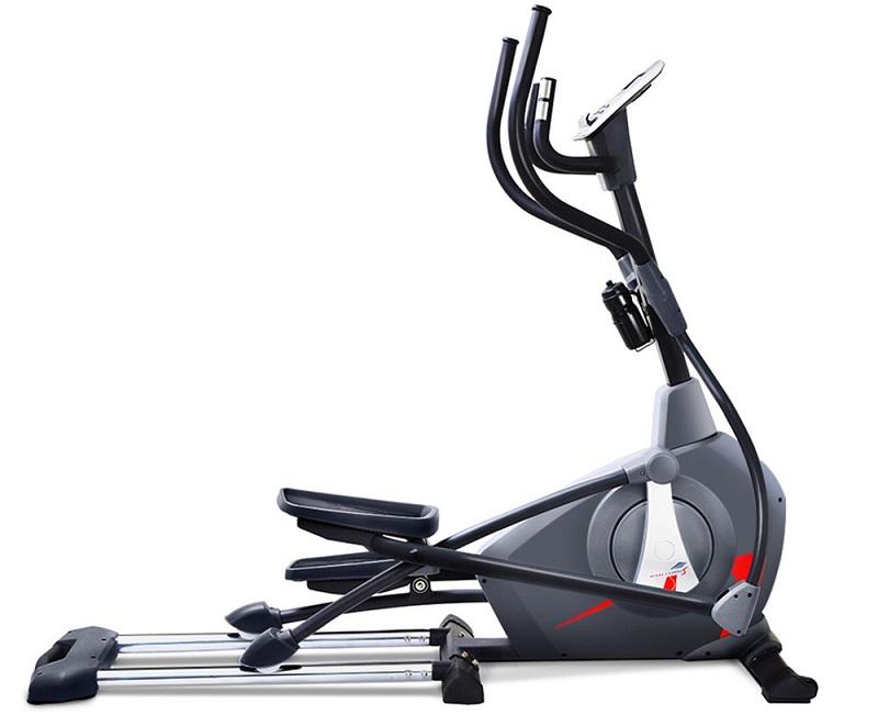 Sportstech CX650 Crosstrainer in der Seitenansicht